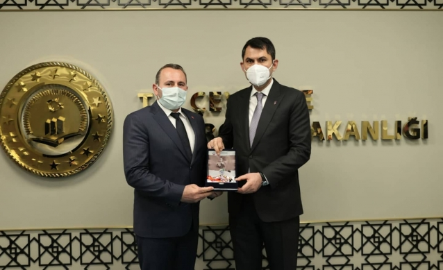 Tutuk Ankara'da Bir Dizi Ziyaretlerde Bulundu