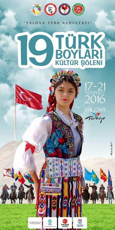 Türk Boyları Kültür Şöleni 17 Temmuz'da Başlıyor