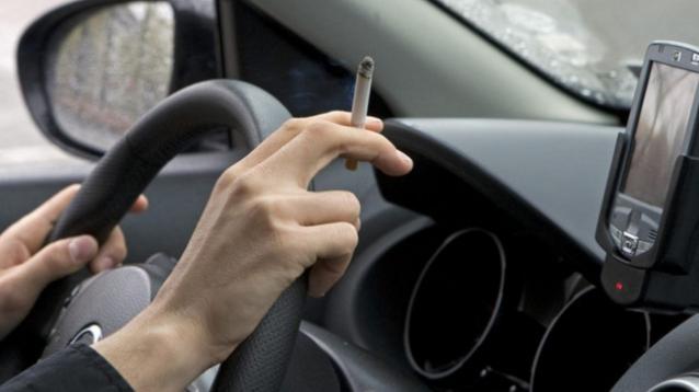 15 Sürücüye Sigara Cezası