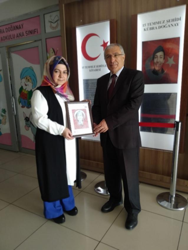 15 Temmuz Şehidi PTT Pullarıyla Ölümsüzleştirildi