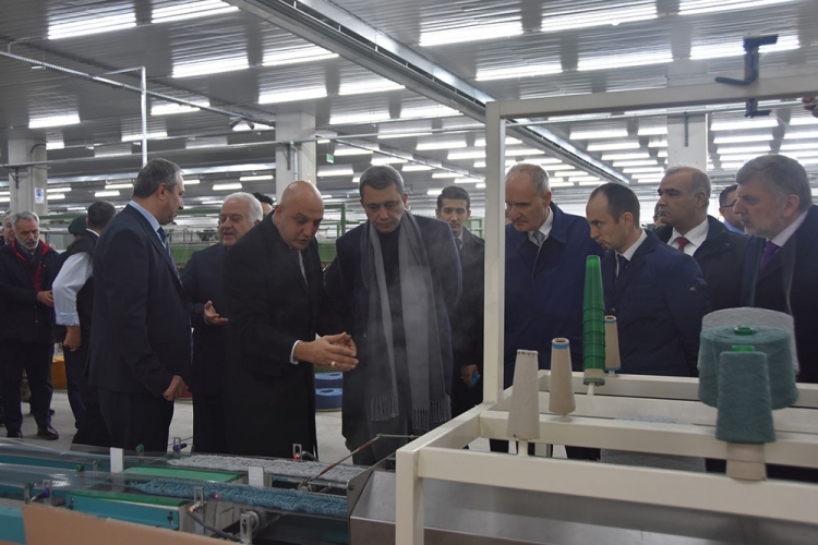 20 Milyon Euro'luk Fabrika Açıldı