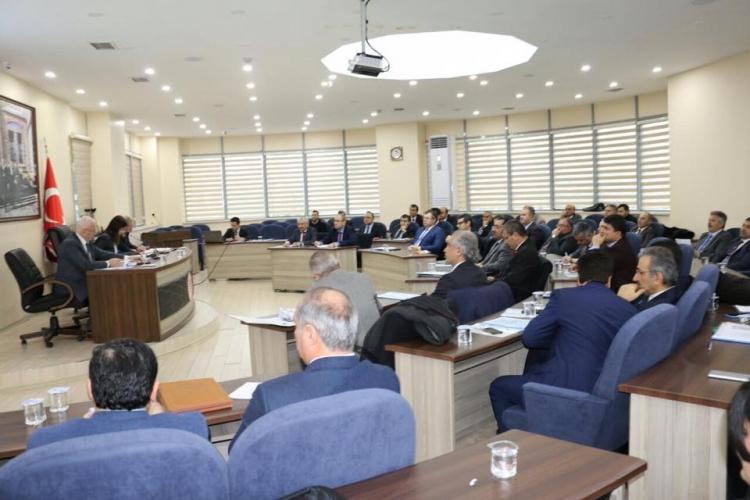 2017 Yılının İlk İl Koordinasyon Toplantısı Yapıldı