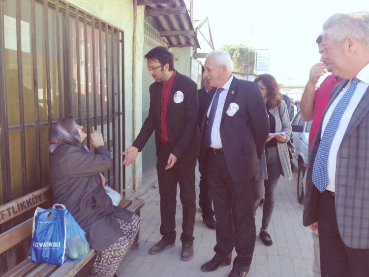 CHP'den Çiftlikköy'de 'Hayırlı' tur