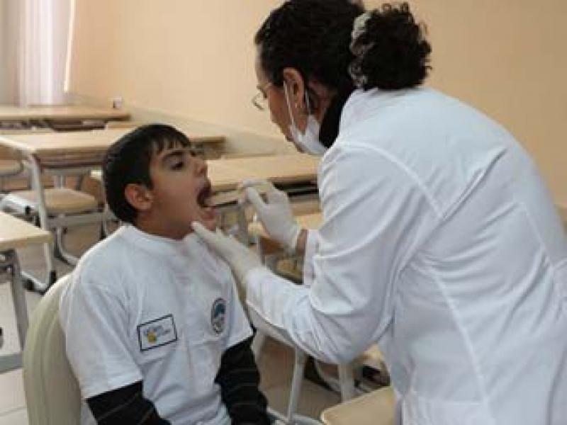 3 Bin 400 Çocuk Diş Taramasından Geçti