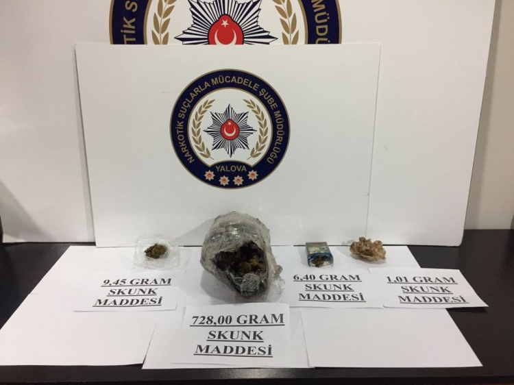 4 Uyuşturucu Satıcısı Operasyonla Yakalandı