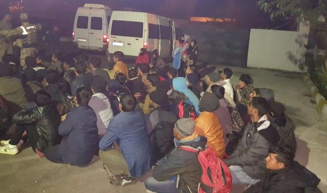 46 Kaçak Afganlı Yakalandı
