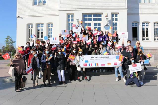 6 Ülkenin Öğrencileri Yalova'da Buluştu