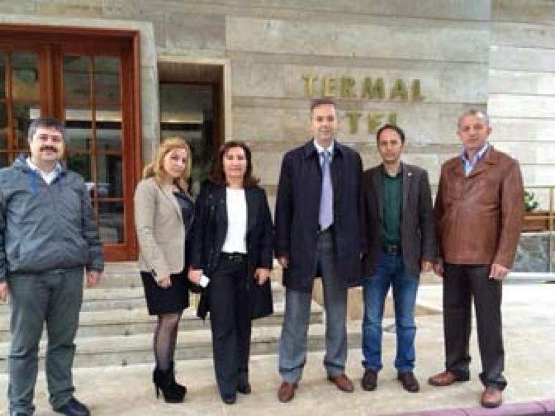 8.Meslek Komitesi Termal'de Üye İşyeri Ziyaretleri Gerçekleştirdi