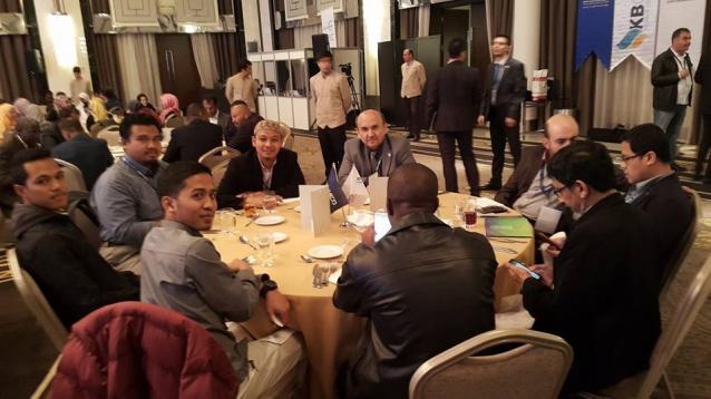 Abay Dünya Müslümanları Sağlık Toplulukları Kongresi'ne Katıldı