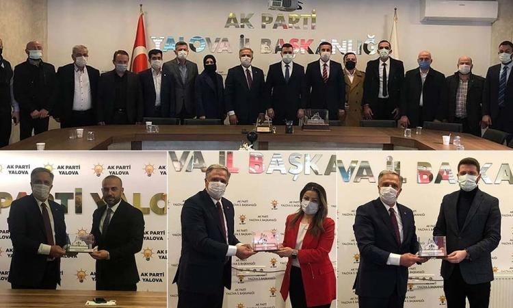 Acar'dan Kongreler Sonrası Tebrik Ziyareti