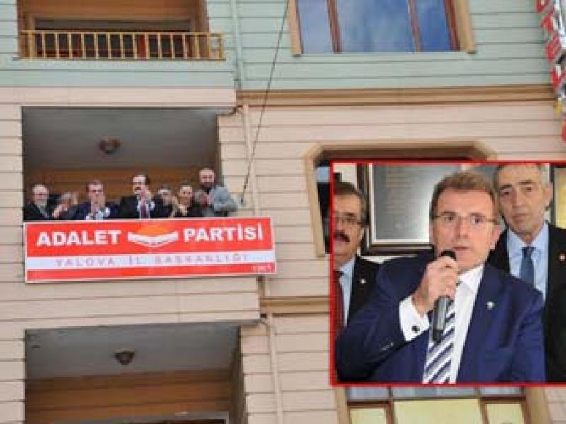 Adalet Partisi Yalova'dan Yayılmaya Başlıyor