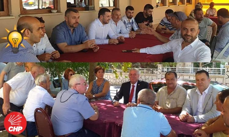Ak Parti Ve CHP Bayramı Yoğun Geçirdi