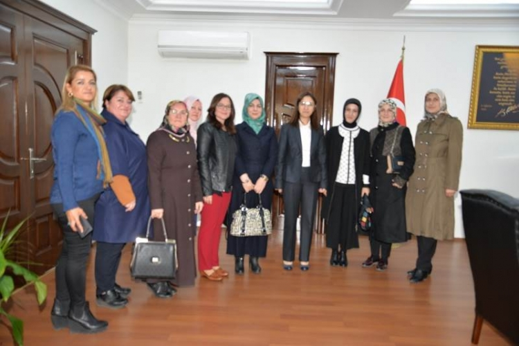 Ak Kadınlardan Vali Yılmaz'a Ziyaret