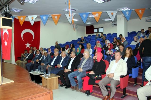 Ak Parti Çiftlikköy İlçe Danışma Kurulu Toplantısı Yapıldı