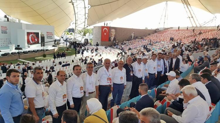 Ak Parti Tam Kadro Ankara'daydı