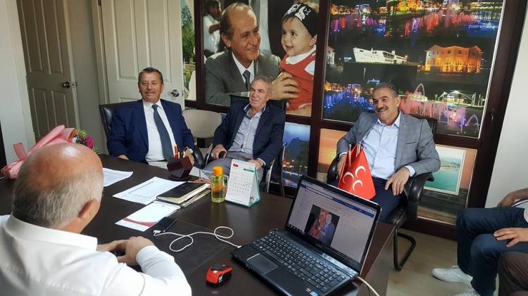 Ak Parti'den MHP'ye Hayırlı Olsun Ziyareti