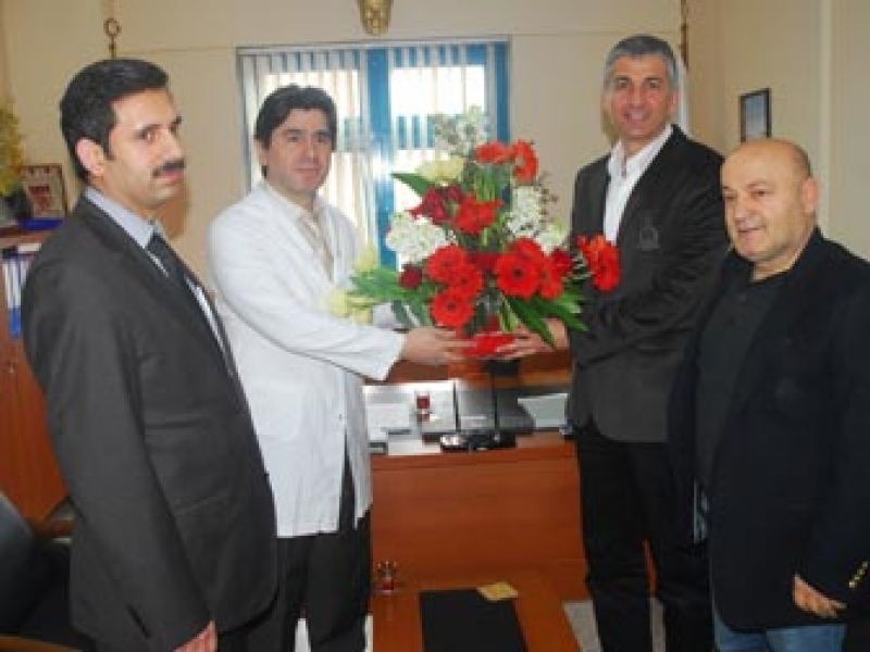 Ak Parti Merkez İlçe'den Başhekim'e Ziyaret