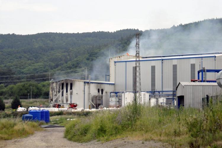 Akkim Fabrikasında Yangın