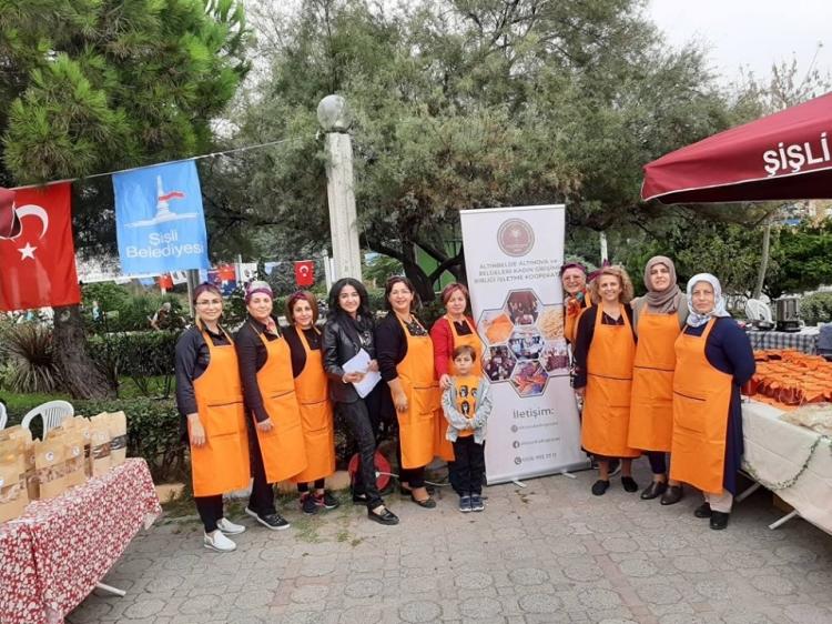 Altın Kadınlar Şişli'de Yalova'yı Tanıttı