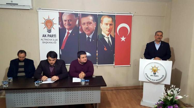 Altınova İlçe Danışma Toplantısı Yapıldı
