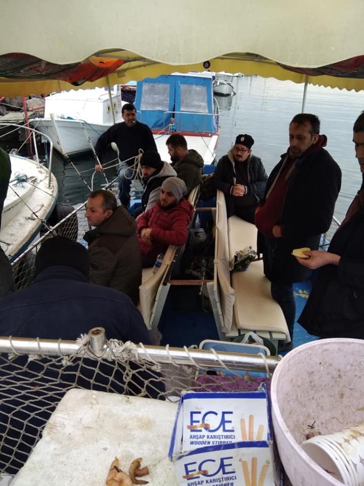 Amatör Balıkçılardan Boğaz Turu