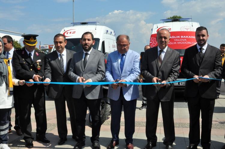 Yalova'ya 6 Yeni Ambulans