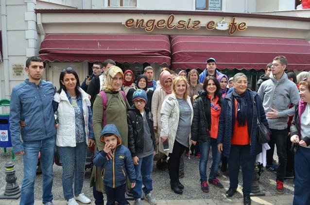 Anofed Üyeleri Yalova'ya Hayran Kaldı