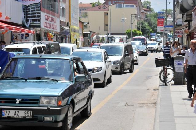 Araç Sayısı 65 Bini Geçti