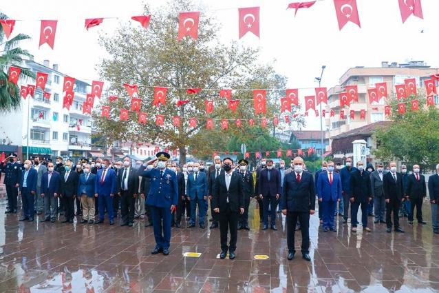 Atatürk, Çiftlikköy'de Anıldı