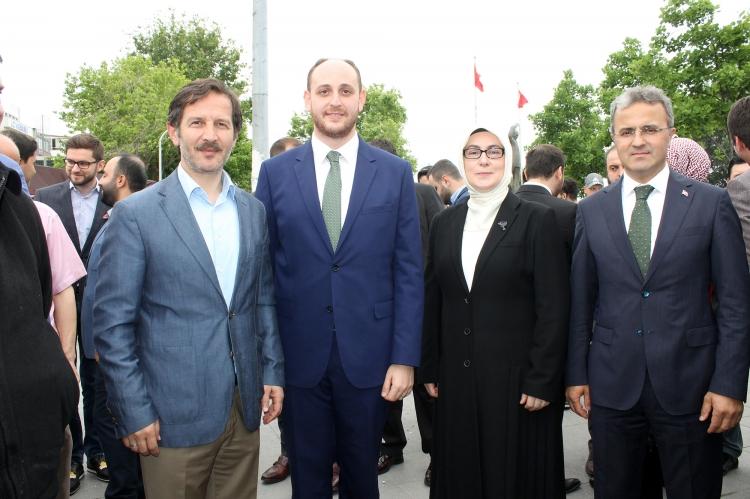 Atik Milletvekili Adaylarına Başarılar Diledi