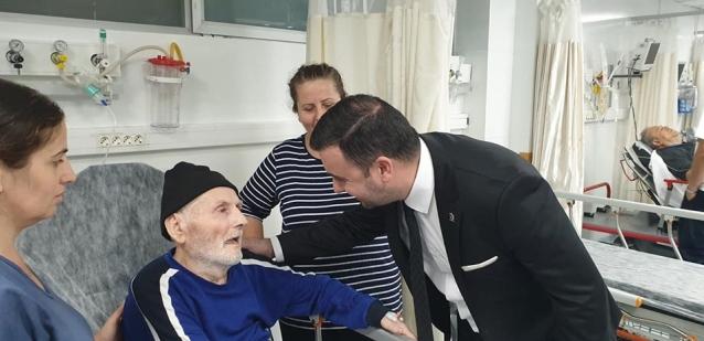 Bağatar'dan Hastalara Ziyaret