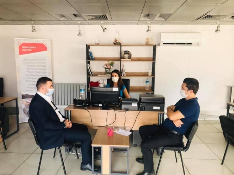 Bağatar'dan Kentsel Dönüşüm Ofisi'ne Ziyaret