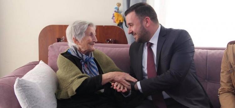 Bağatar'dan Yaşlılara Ziyaret