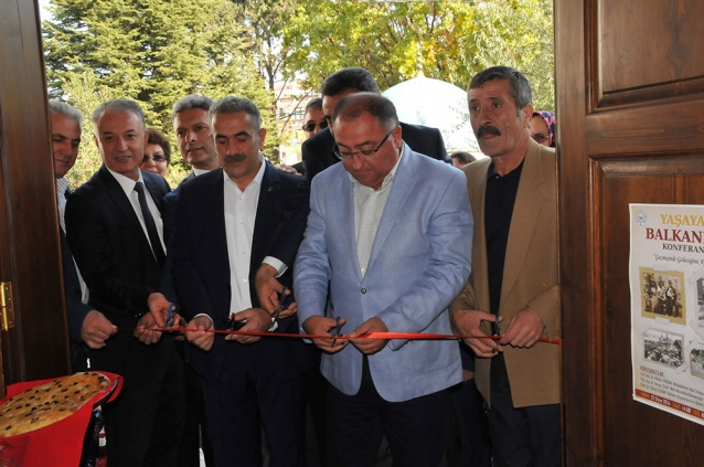 Balkan Evi Kültür Sergisi Açıldı