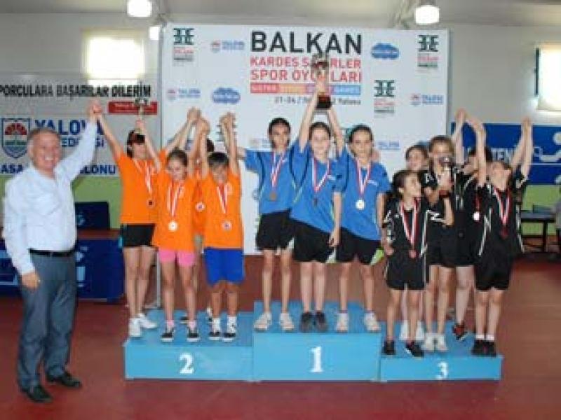 Balkan Kardeş Şehirler Spor Oyunları Sona Erdi