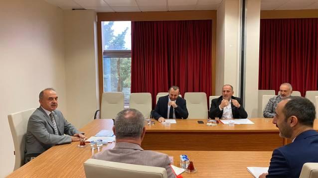 Numan Soyer, Evde Sağlık Komisyon Toplantısını Katıldı