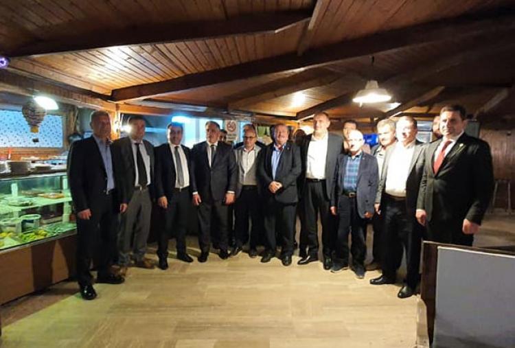 Başkanlar Esenköy'de Buluştu