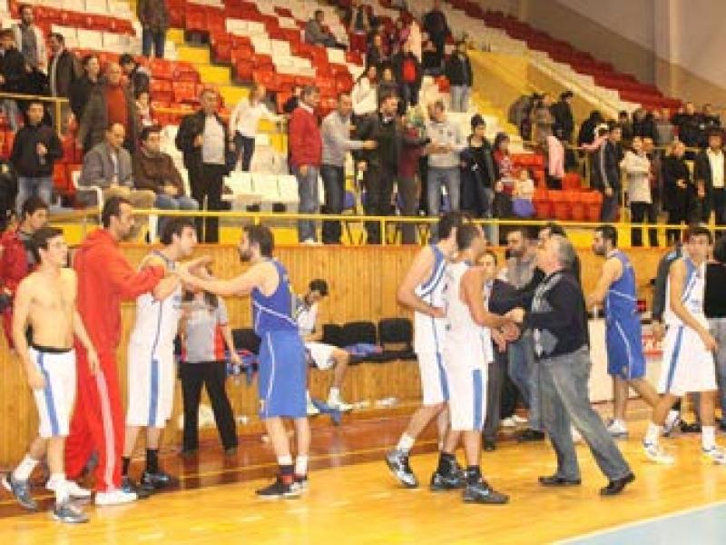 Basketbol Maçında Kavga Çıktı
