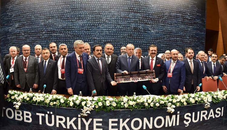 Becan, TOBB Türkiye Ekonomi Şurasına Katıldı