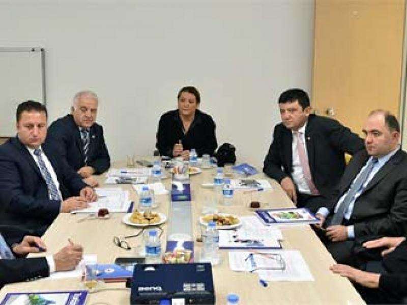Becan TOBB Komisyon Ve Kurullar Toplantısına Katıldı