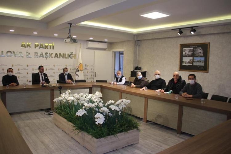 Belediye Meclisi Eski Üyelerine Çalışmalar Anlatıldı