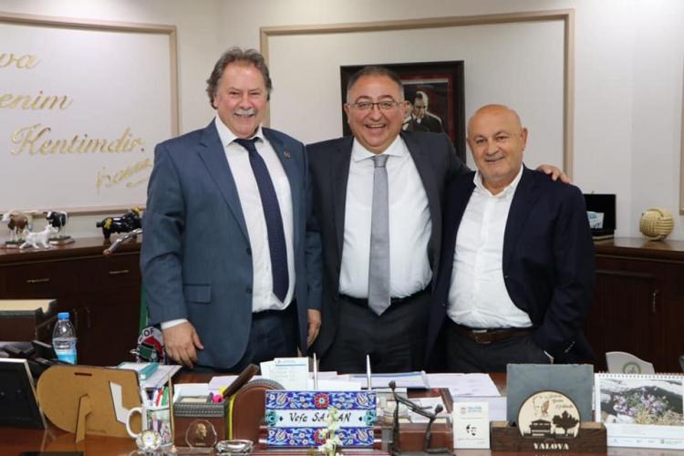 Birlik Başkanlarından Salman'a Ziyaret