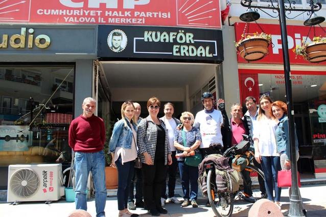 Atatürk'ün İzinde Samsuna Pedal Basacak