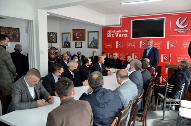 Yeniden Refah Partisi Genel Başkan Yardımcısı Yalova'daydı
