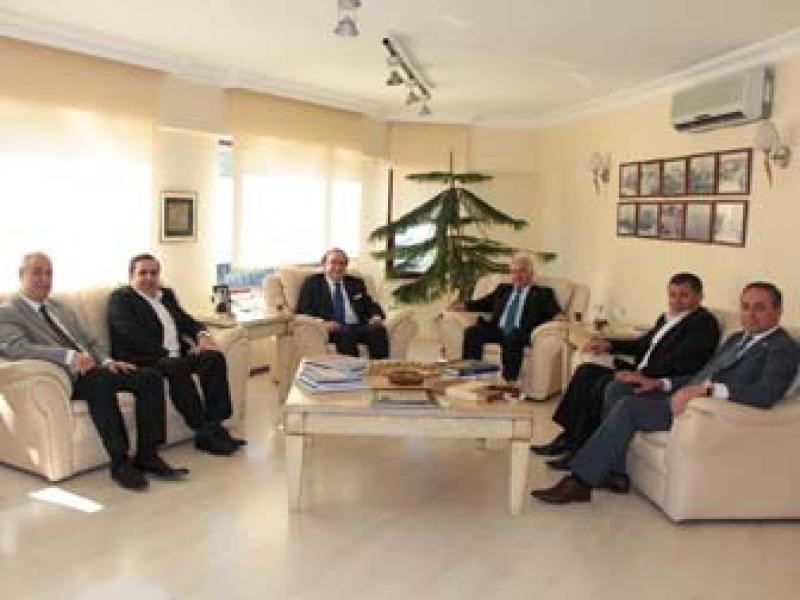 Bolu Ve Kocaeli TSO Başkanları Yalova'da