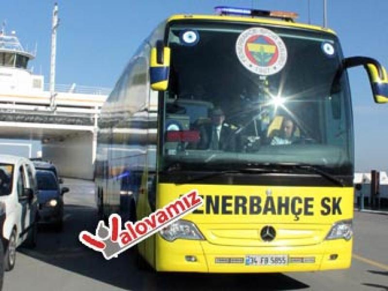 Bursaspor Ile Karşilaşacak Fenerbahçe, Yalova'ya Geldi