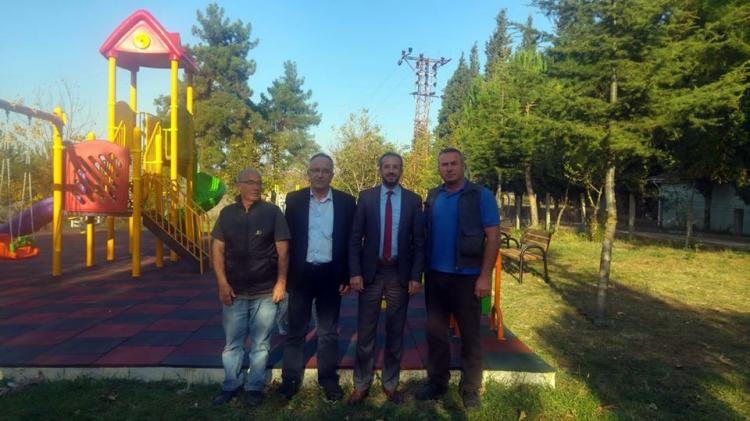 Çavuşçiftlik Köyü'ne Çocuk Parkı