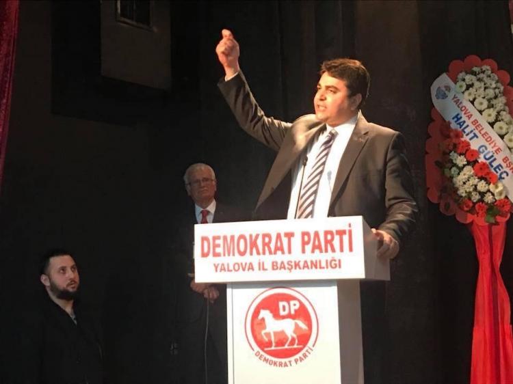 DP Genel Başkanı Uysal Yalova'daydı