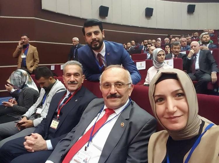 Öztabak, İl Başkanları Toplantısına Katıldı