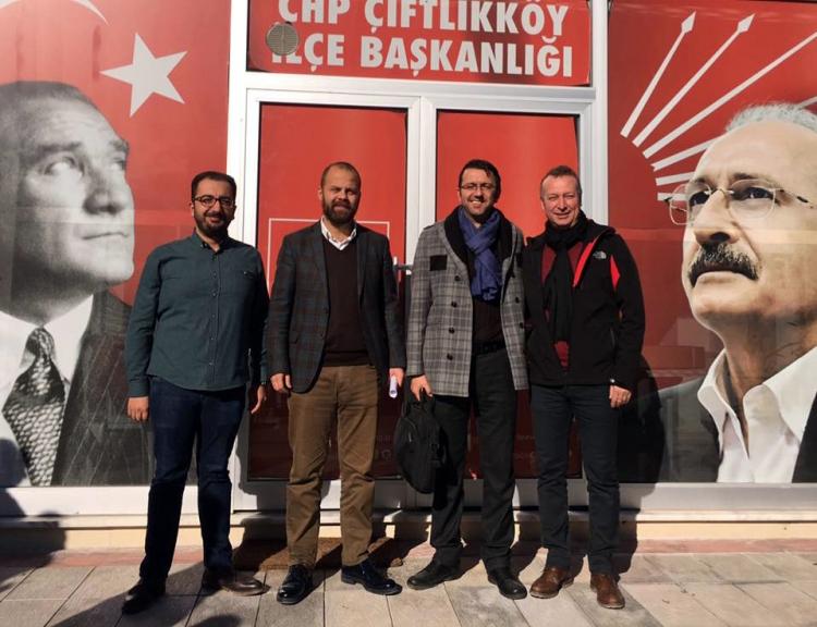 CHP Çiftlikköy Sokağa İniyor